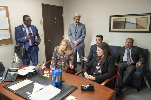 Staff Meeting - Veep Season 7 Episode 1