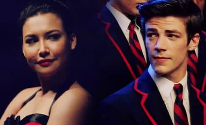 Grant Gustin Remembers 'One of a Kind' Glee Co-Star Naya Rivera