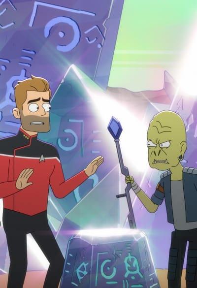 Diplomatic Misstep - Star Trek: Lower Decks Saison 1 Episode 3
