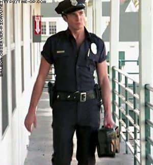 Gob as Stripper Cop