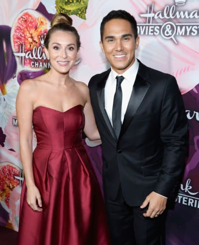 Red Carpet Arrival of Alexa and Carlos PenaVega