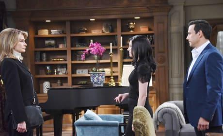 Marlena Confronts Stefan - Days of Our Lives