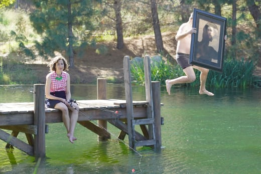 Swimming with a Painting - Last Man on Earth Season 3 Episode 9