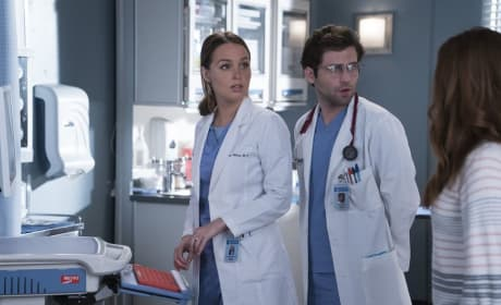Jo Is Thrown For a Loop  - Grey's Anatomy Season 14 Episode 21