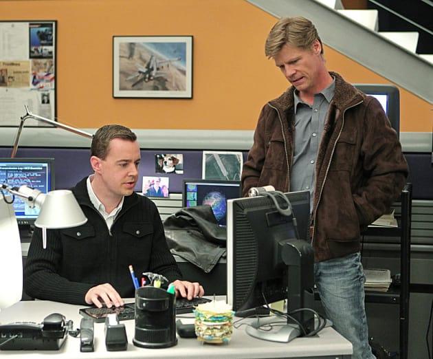 McGee at His Computer