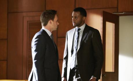 Speaking with Oliver - Suits Season 7 Episode 4