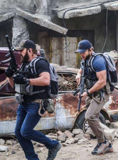 Tensions Rise -- Tall - SEAL Team Season 4 Episode 8