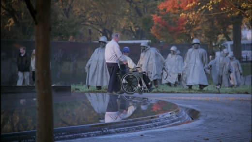 Veterans in DC - The West Wing Season 1 Episode 10