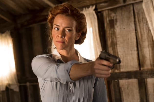 Emma  Get Your Gun - Timeless Season 2 Episode 1