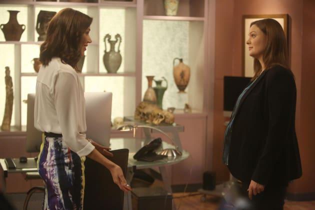 Angela and Brennan Talk - Bones Season 10 Episode 22