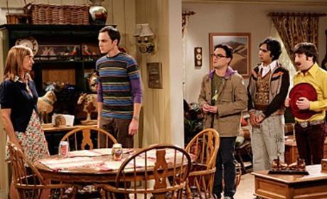 The Boys Come for Sheldon