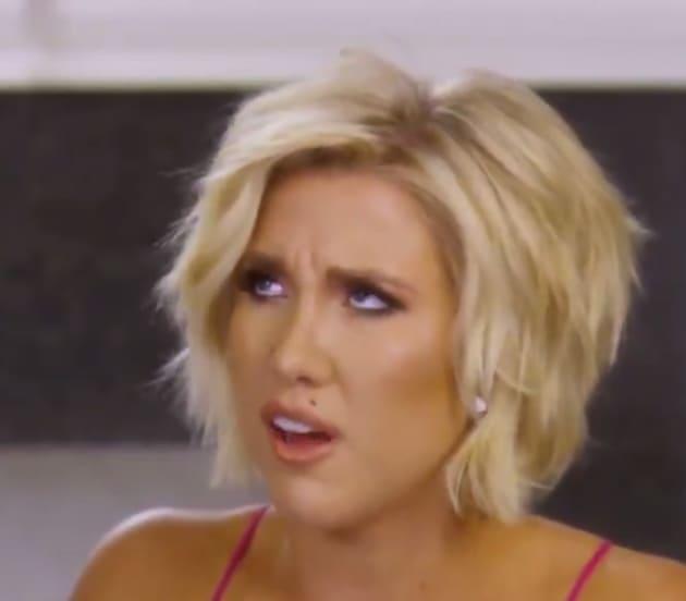 Savannah Chrisley Is Not Amused