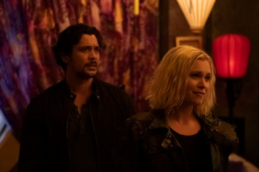 Bellamy and Josephine Together - The 100 Season 6 Episode 6