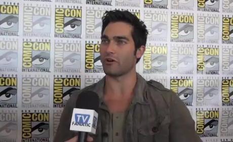 Tyler Hoechlin Comic-Con Interview