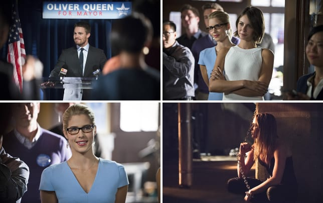 Oliver queen for mayor arrow s4e4