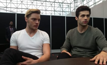 Shadowhunters Q&A: Dominic Sherwood and Matthew Daddario on Mature Characters, New Tone