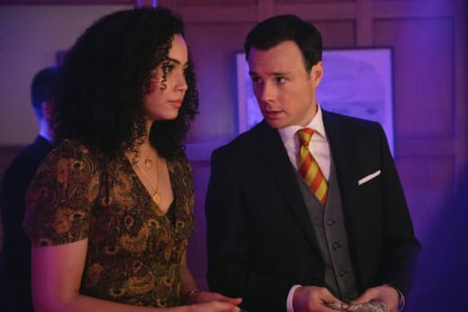 Macy and Harry Talk At Party - Charmed (2018) Season 1 Episode 6
