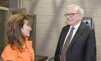 On the Set of All My Children... with Warren Buffet!