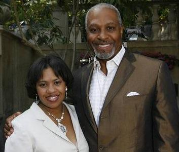 James Pickens, Jr. & Chandra Wilson