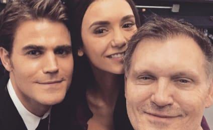 The Vampire Diaries Series Finale Pictures: Nina Dobrev's Return & More!
