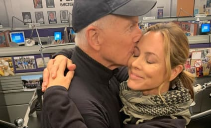 Maria Bello Says Goodbye to NCIS as She Wraps Filming
