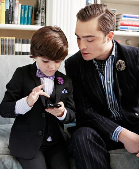 Chuck Bass and Son?