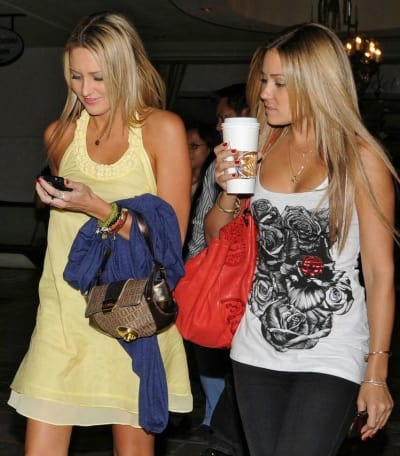 Lauren Conrad and Stephanie Pratt Pic