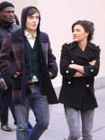 Ed Westwick and Jessica Szohr Photo