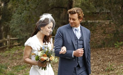 The Mentalist Series Finale First Look: Look Who's Getting Married!
