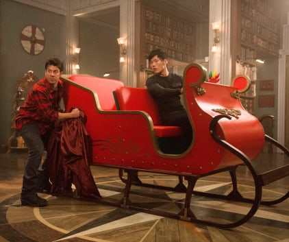 Santa's Sleigh - The Librarians