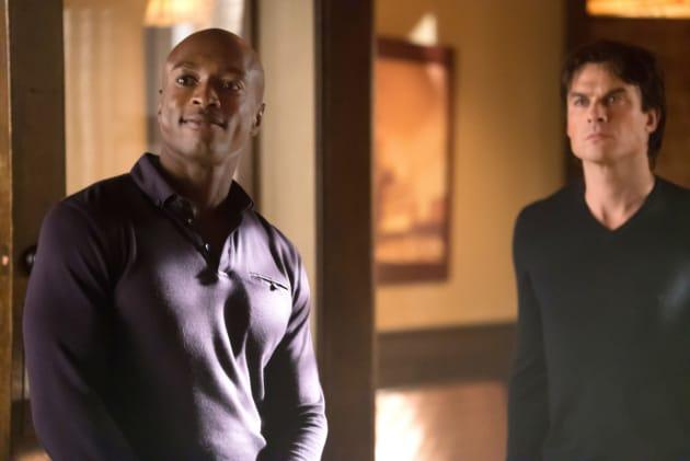 Cade and Damon Unite? - The Vampire Diaries Season 8 Episode 12