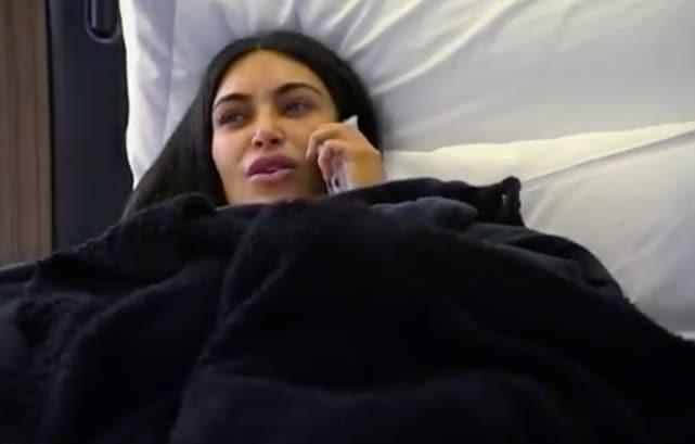 Kim kardashian talks in bed keeping up with the kardashians