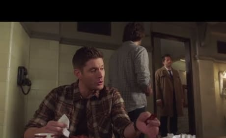 Dean And Bacon - Good Intentions - Supernatural Season 13 Episode 14