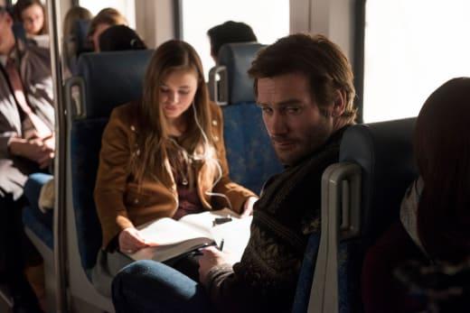 Silbings on a Train - Taken Season 1 Episode 1