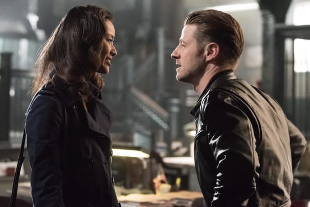 Valerie and Jim - Gotham Season 3 Episode 1