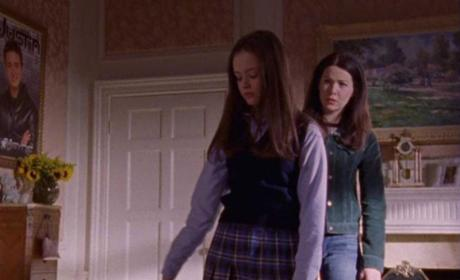 Lorelai and Rory Fight
