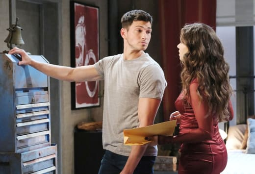 Ciara Wants The Papers Signed - Days of Our Lives