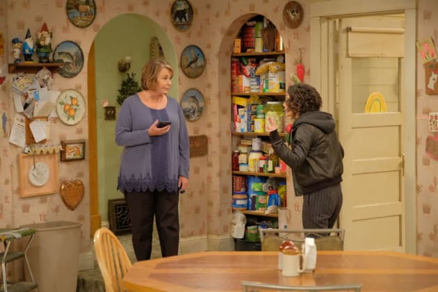 Bickering Family - Roseanne Season 10 Episode 4