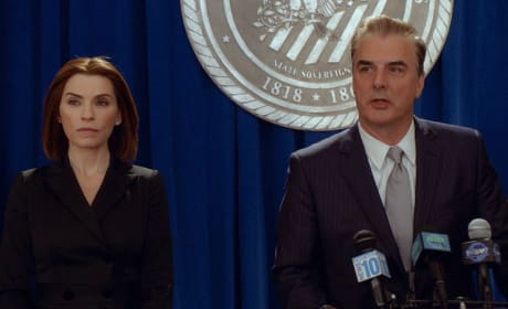 Alicia Stands By Peter, Again - The Good Wife Season 7 Episode 22