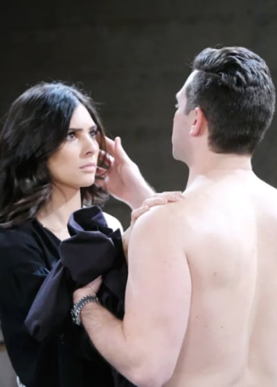 Gabi and Stefan Are Trapped - Days of Our Lives