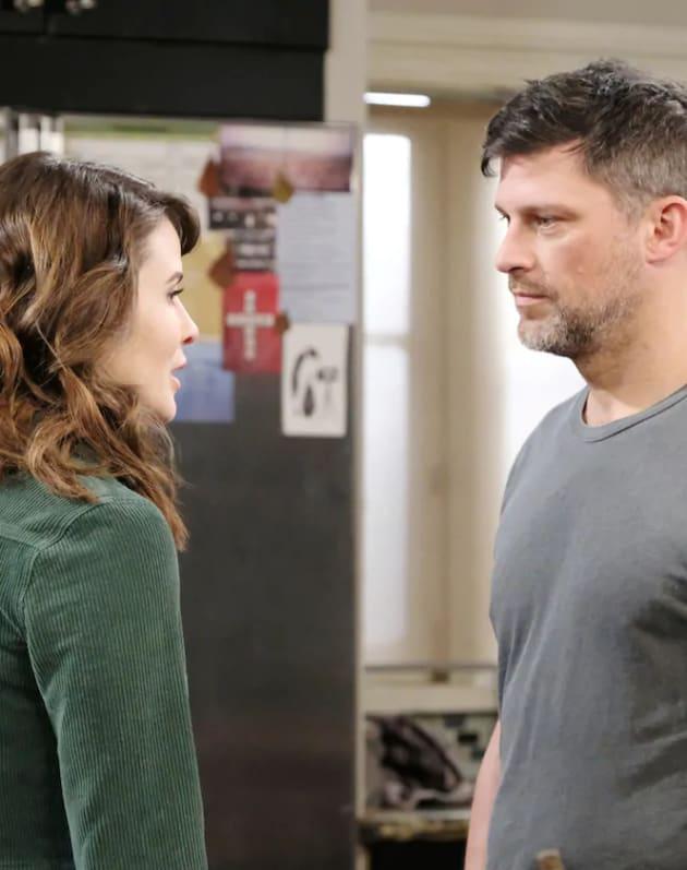 Eric and Sarah Get Closer - Days of Our Lives