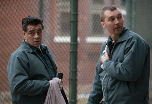 Benecio del Toro and Paul Dano Escape at Dannemora