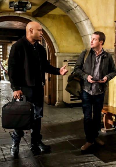 Navy SEAL Brotherhood -- Tall - NCIS: Los Angeles Season 10 Episode 20