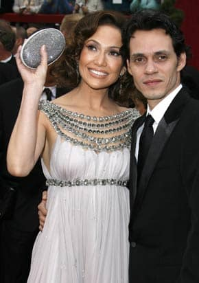 J-Lo and Marc Anthony