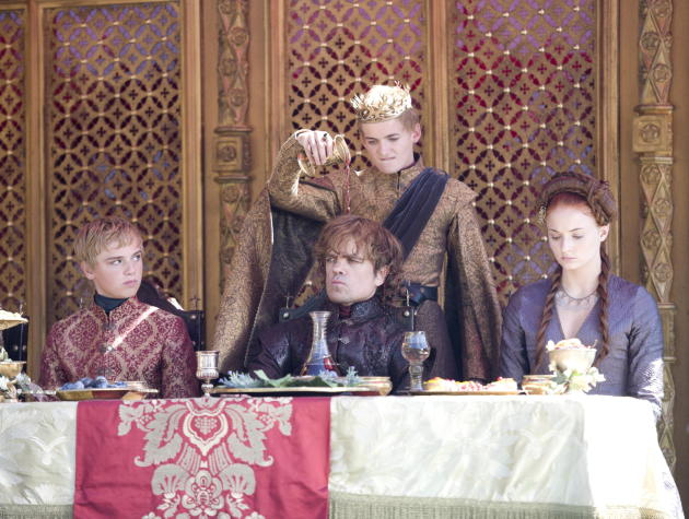 Wine on Tyrion