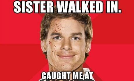 Dexter Comic-Con Poster