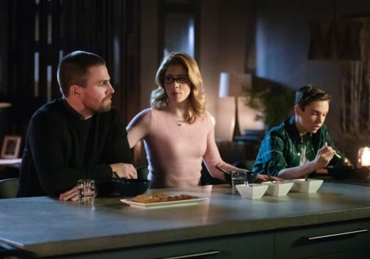 Family Issues  - Arrow Season 7 Episode 13