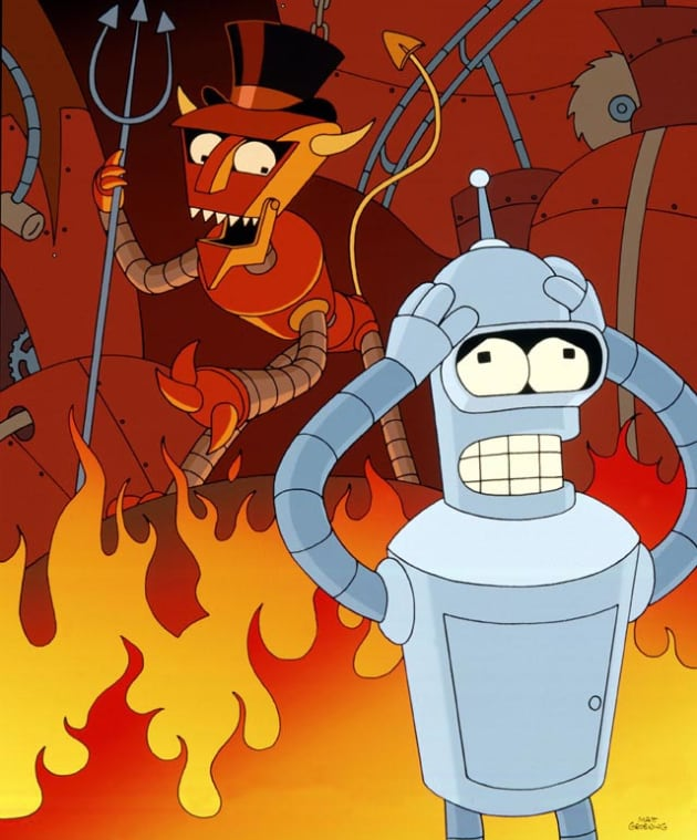 Image result for robot hell
