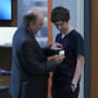 Dr. Murphy gets badge - The Good Doctor Season 1 Episode 2