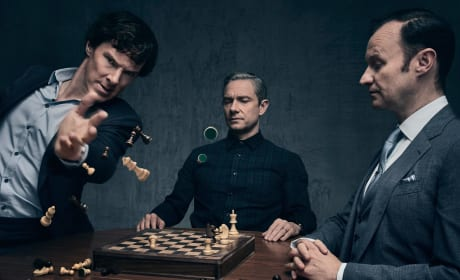 It's Not A Game Anymore - Sherlock Season 4 Episode 3